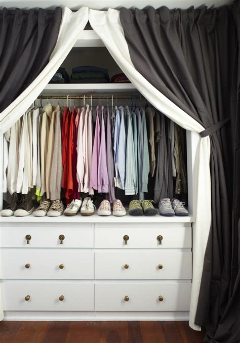 Curtains Instead Of Closet Doors Alternative Curtain Uses