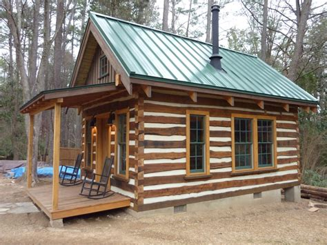 cottages to build building rustic log cabins small log cabin plans building
