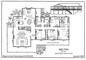 Queensland House Designs Floor Plans by Milton Kit Homes For Sale