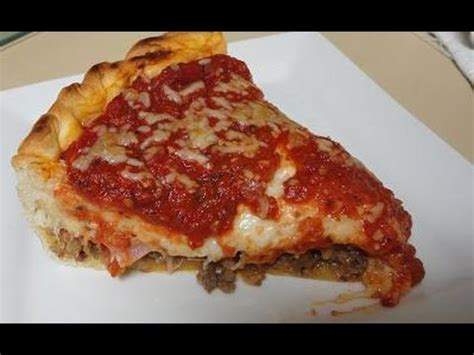 chicago recipe chicagostyle stuffed pizza recipe 2 just a pinch recipes