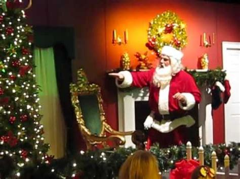 santa coming down the chimney 2009 youtube