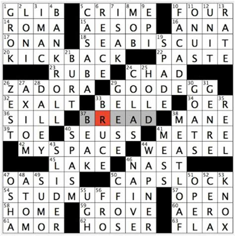 rex parker does the nyt crossword puzzle: idiot in