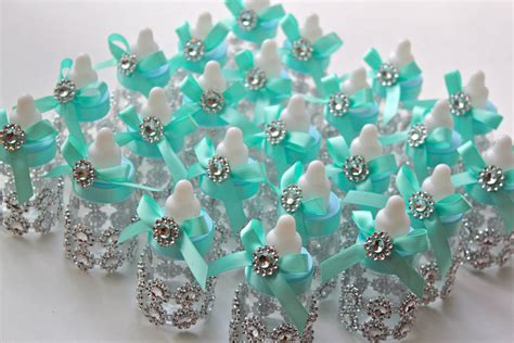 Blue Candies For Baby Shower by Co Inspired Baby Bottles Baby Shower Favors