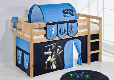 childrens cabin bed bunk bed midsleeper jelle nature with