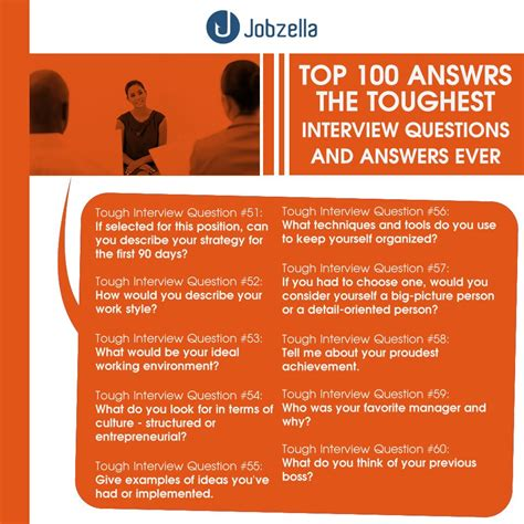 Question Are The Answers 100 questions and answers jobzella
