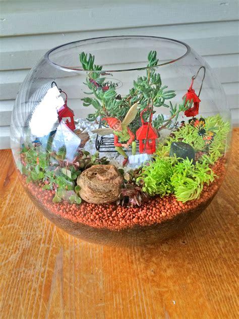 miniature terrarium fairy garden   fun mum