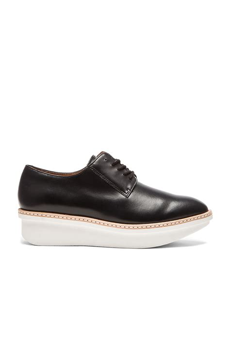 gordon oxford shoes 10 crosby derek lam gordon leather oxford shoes in black