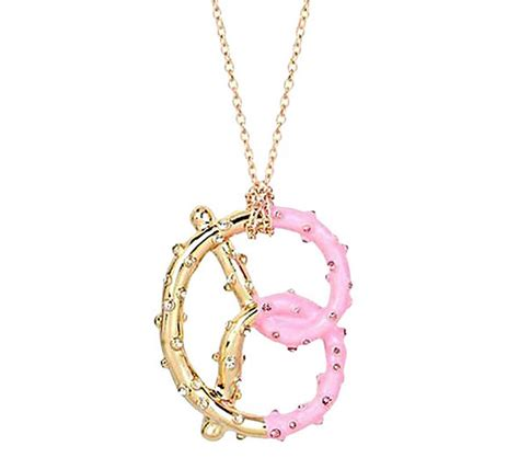 Shopping Charm Necklace by Betsey Johnson Jewelry Sweet Shop Pretzel Pendant Nwt Ebay