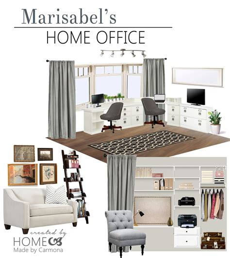 Home Office Design Board by Home Office Design Board A Design Plan For An Office Home