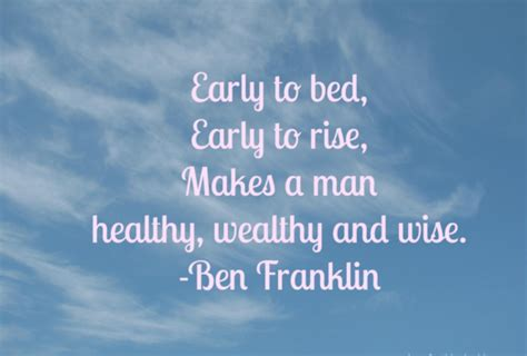 early to bed early to rise quote quotes early to bed and early to rise makes a man healthy