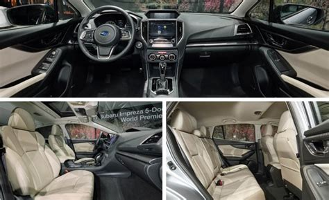 2017 subaru impreza hatchback interior 2017 subaru impreza sedan hatchback photos and info