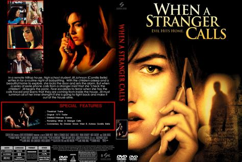 when a stranger calls 2006 when a stranger calls dvd covers bluray covers and