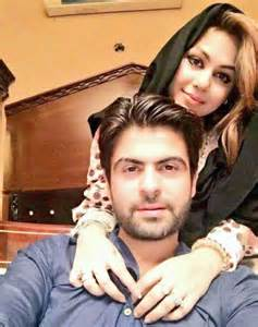 Ahmad shahzad with his wife cricketer ahmed shehzad selfie with his