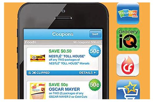 how to use coupons app