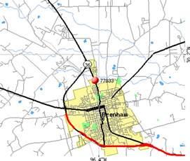brenham map 77833 zip code brenham profile homes