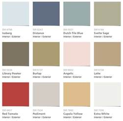sherwin williams pottery barn summer 2014 paint colors archives intentional designs inc