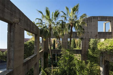 cement factory house architect ricardo bofill s abandoned cement factory