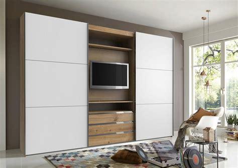 kleiderschrank mit tv fresh to go schwebet 252 renschrank mit drehbaren tv element