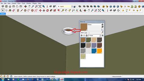 tutorial menggunakan google sketchup cara membuat efek lu di google sketchup dengan bantuan