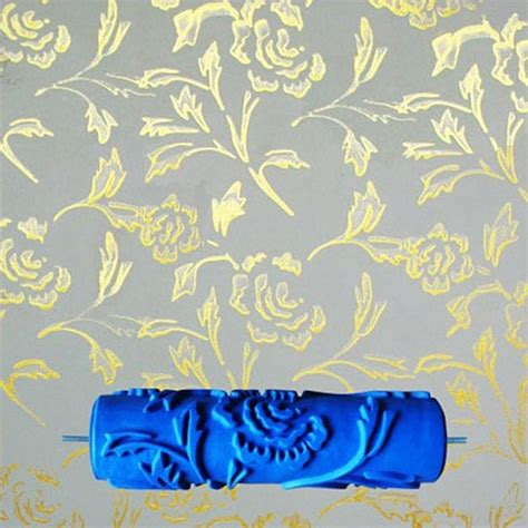 paint rollers with designs aliexpress buy 7inch 3d rubber wall decorative painting roller patterned roller wall