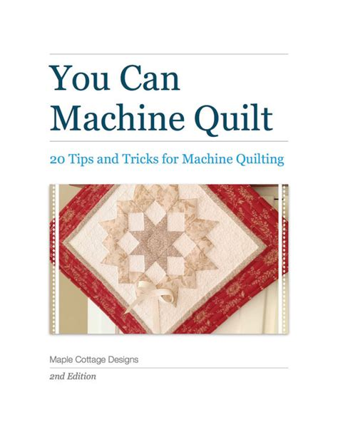 Easy Machine Quilting Techniques by How To Quilt Machine Quilting Tips And Tricks Tutorial Pattern
