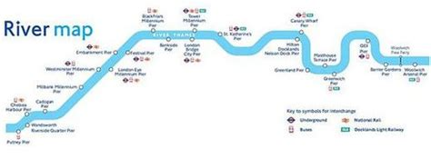 map of river thames central london london river services wikipedia