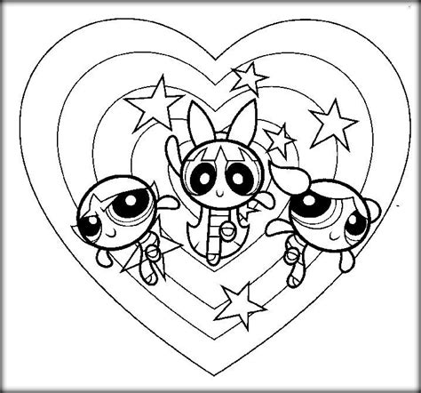 Powerpuff Girls Coloring Pages   Color Zini