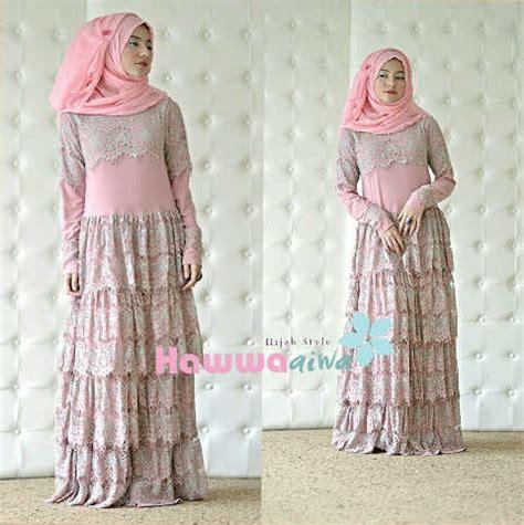 Gamis Ayudia Rania Dusty Pink desain busana fashion indonesia auto design tech