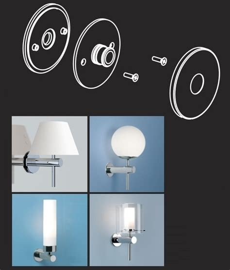 bathroom mirror fixings mirror fixing kit for use with wall lights