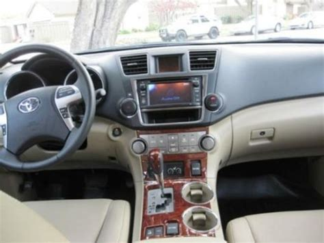 2013 Toyota Highlander Limited Accessories Buy Used 2013 Toyota Highlander 4x4 Limited V6 In Muncie