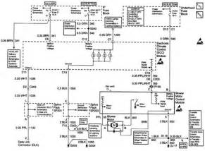1998 chevrolet blazer blower motor module circuit diagram