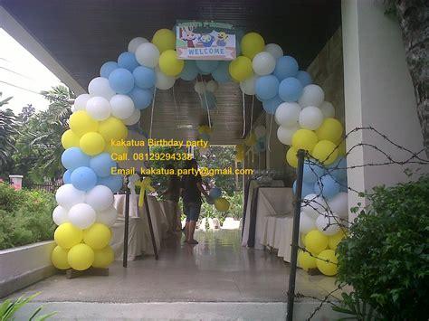 Home Decoration For Birthday hiasan balon kakatua party organizer