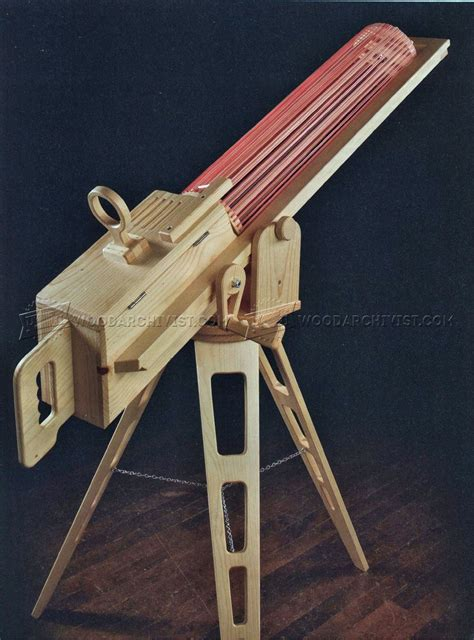 rapid fire rubber band gun woodarchivist