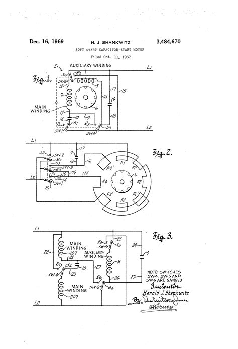single phase capacitor start induction motor wiring