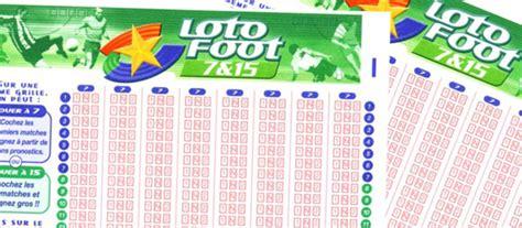 loto foot 7 et 15 prochaines grilles loto foot 7 et 15 en ligne lotofoot 7 15 parions sport fdj