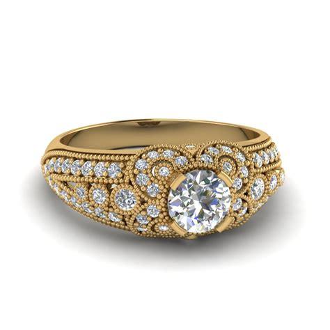 estate engagement ring fascinating diamonds
