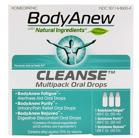 Detox And Tiredness by Heel Anew Cleanse Multipack Drops Healing