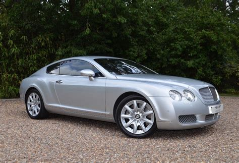 silver bentley used moonbeam silver bentley continental gt for sale