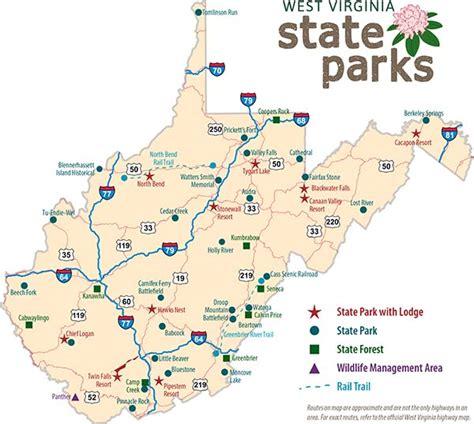 west virginia state map tu endie wei state park west virginia state parks autos post