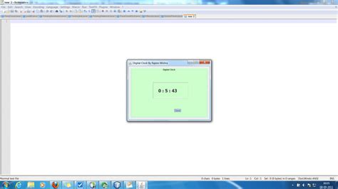 java swing timer tutorial a tutorial on creating digital clock in java using threads
