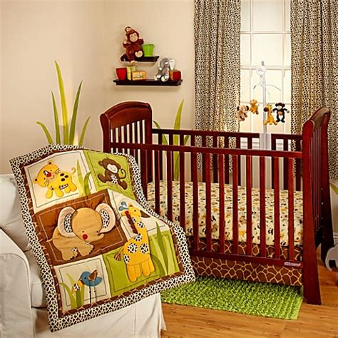 jungle nursery bedding sets bedding by nojo 174 jungle dreams crib bedding collection buybuy baby