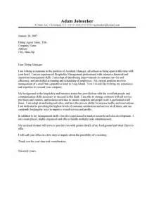 Hotel Sales Manager Cover Letter by Hotel Manager Cover Letter Resume Cover Letter