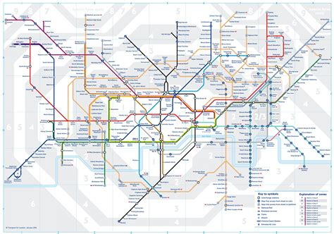 underground map zones tfl redraws map as zone 2 boundary change comes into