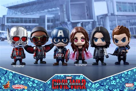 Toys Cosbaby Vision Civil War Ori the blot says captain america civil war cosbaby vinyl