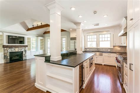 kitchen island columns 2018 kitchen islands with columns designing idea