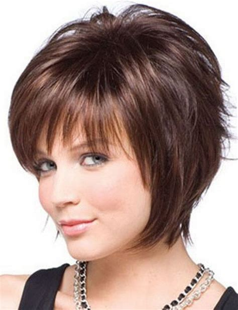 short hair styles cut round the ear 25 beautiful short haircuts for round faces thin hair