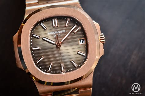 Jam Replika Patek Phillipe Nautilus Jumbo 5711 Black Swiss Eta 1 1 1 patek philippe nautilus 5711 1r 001 gold chocolate