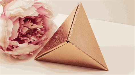Origami Cool Box - learn how to make an origami fox box