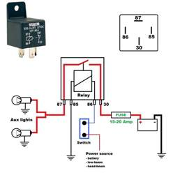 relay wiring diagram for lower powered lights it is possible to do so but it is generally