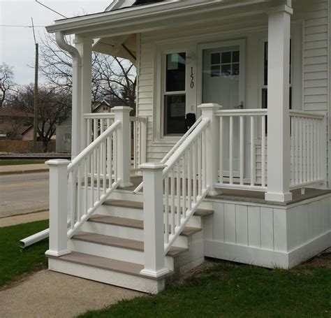 5 Budget Fashion Posts To Blogstalk by Iron Porch Columns Post Small Front Porch Photo